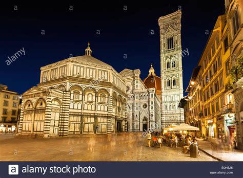 piazza santa fiore dome cathedral santa fiore with giotto s