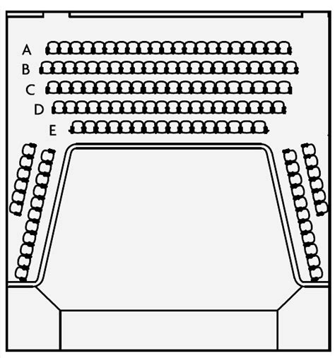 Layout Floor Plan town hall theatre galway