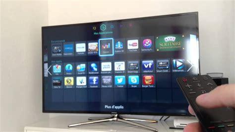 pr 233 sentation de ma tv samsung 55 smart tv led et 3d