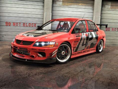 mitsubishi street racing cars street racing