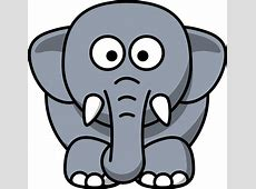 Clip Art: elephant animal super duper SVG - Clipart ... Elephant Printable Clipart