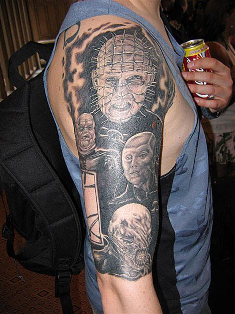 hellraiser tattoo hellraiser cool tattoos gallery of pictures