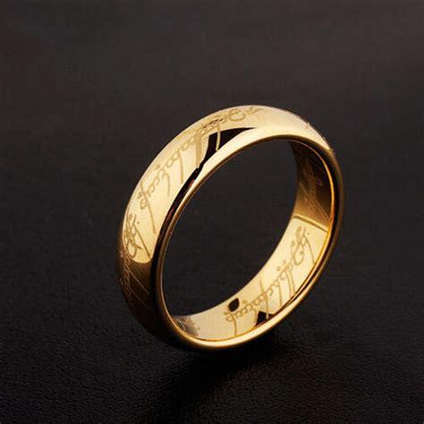 classic unisex anillos hobbit lord rings bright