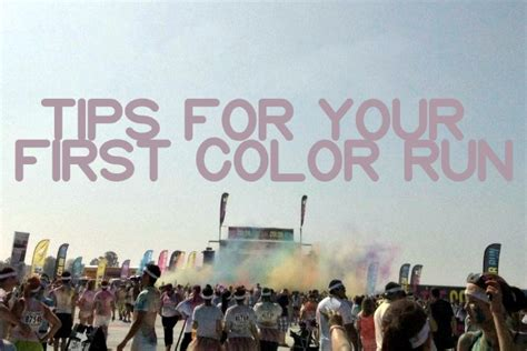 color run tips 3 color run tips for your race cfire chic