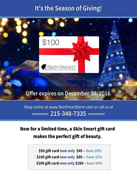 Smart Gift Cards - 4 people in your life who d love a skin smart gift card skin smart