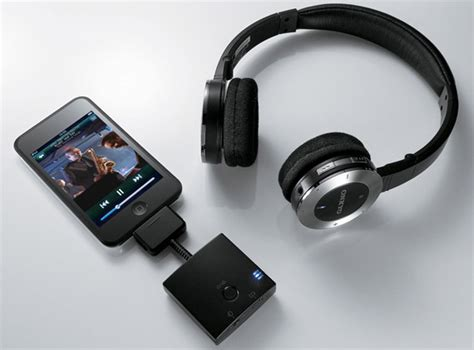Headset Bluetooth Ipod onkyo bluetooth ipod headphones cool material