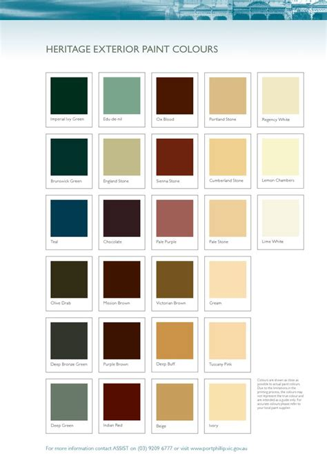 heritage exterior paint colours wall finishes tiling flooring fa