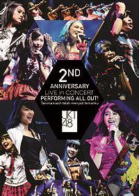 Dvd Jkt48 jkt48 2nd anniversary live in concert wiki48