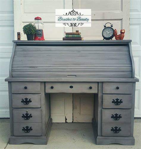 Annie Sloan Paint On Kitchen Cabinets custom gray roll top desk general finishes design center