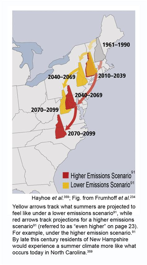 Of New Hshire Global climate on the move changing summers in new hshire global climate change impacts in the