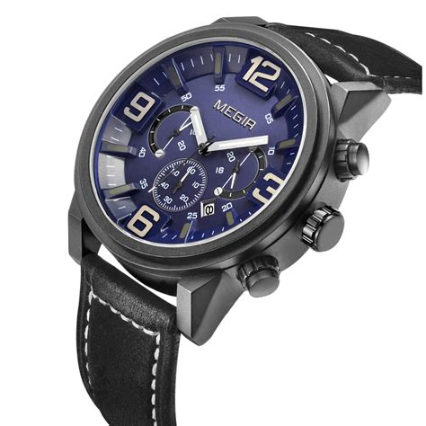 Megir Ms3006g Jam Tangan Analog megir jam tangan analog ml3010g black blue jakartanotebook