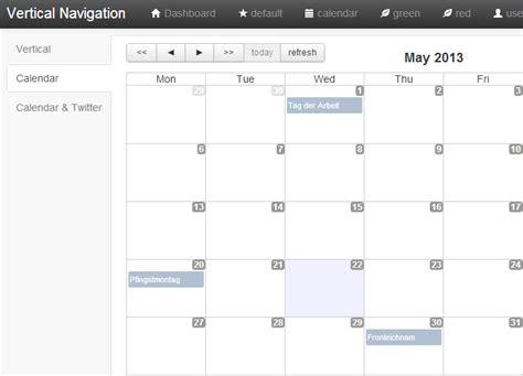 bootstrap template for calendar calendar template 2016