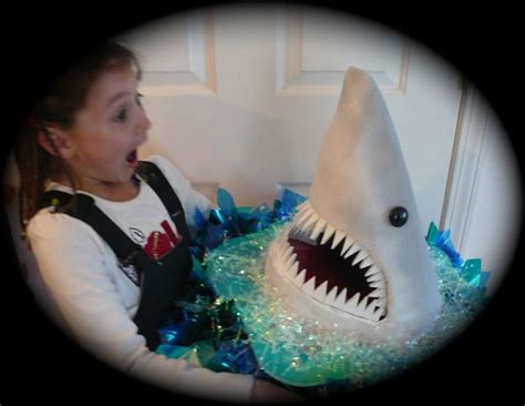 How To Make A Paper Mache Shark - these shark heads were table centerpieces yeah really
