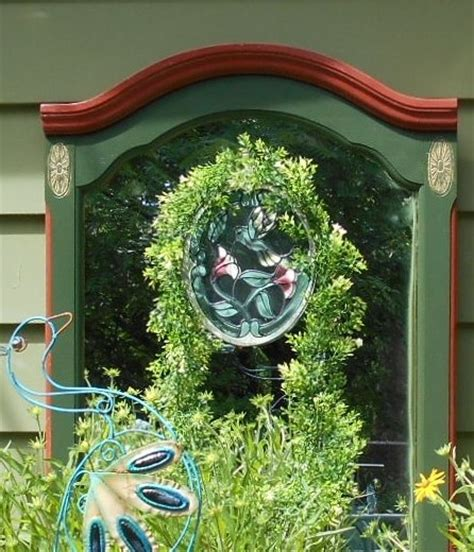 garden wall mirrors mirror on the garden wall hometalk