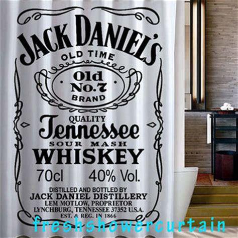 Jack Daniels Shower Curtain From Freshshowercurtain On Etsy