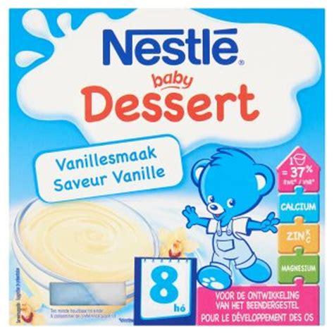 Baby Pudding - nestl 233 baby dessert vanilla flavoured gluten free baby