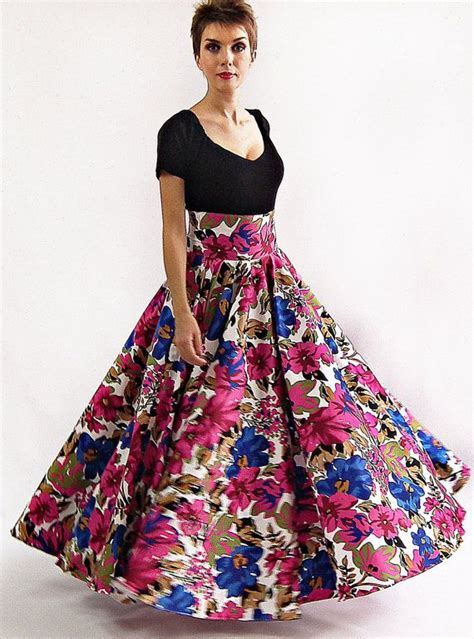 Flower Skirt Rok maxi skirt skirt floor length skirt floral skirt