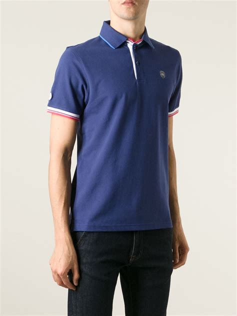 Polo Shirt Cooper lyst hackett cooper bikes x polo shirt in blue for