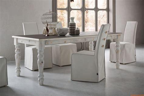 tavoli shabby chic adriano vintage tavolo shabby chic in legno 160x90 cm