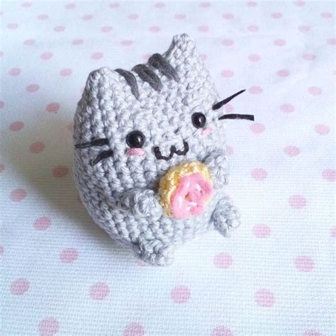 pusheen knitting pattern toffoletto donut cat amigurumi pattern cats
