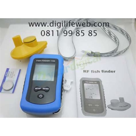 fish finder wireless pelacak ikan tanpa kabel