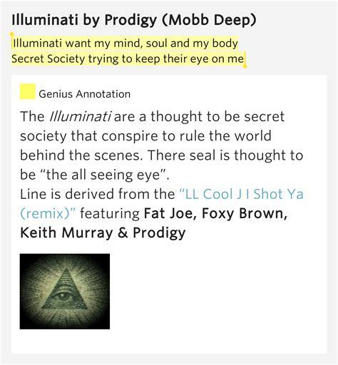 secret lyrics meaning illuminati want my mind soul and my secret society