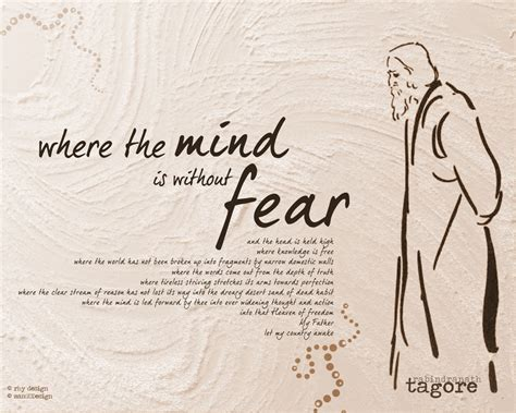 themes in tagore s short stories where the mind is without fear by rabindranath tagore