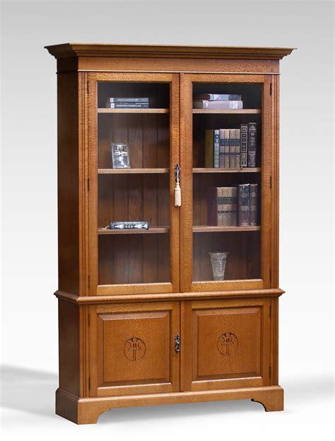 Silky Oak Bookcase Open Shelf Silky Oak Bookcase 4 Door Lacewood Furniture