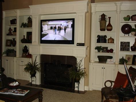 tv mounted on fireplace how should i run wiring for my above fireplace mounted tv