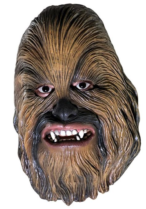 printable chewbacca mask chewbacca 3 4 vinyl mask