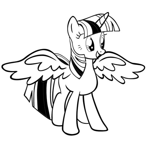 princess twilight sparkle coloring pages with princess