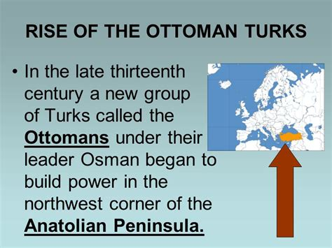 Rise Of Ottomans Chapter 15 The Muslim Empires Ppt
