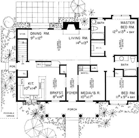 u shaped ranch house plans tudor ranch home plan 81190w architectural designs