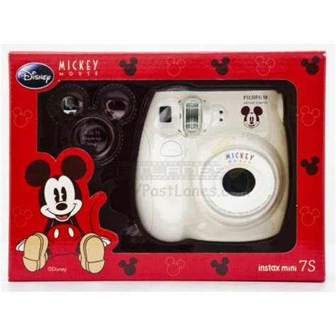 fujifilm instax mini 7s fujifilm instax mini 7s mickey mouse gift set white