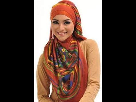 tutorial hijab segi empat citra kirana video cara pakai hijab pashmina ala citra kirana youtube