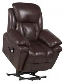 luxor dual motor leather riser recliner chair rise
