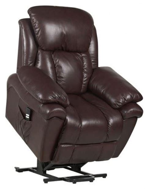 leather riser recliner chairs luxor dual motor leather riser recliner chair rise