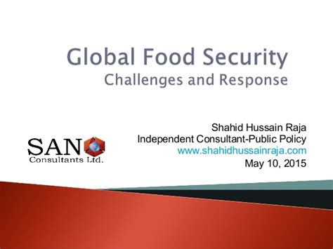 global security challenge global food security challenges and response