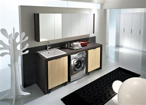 wonderful Clothes Storage For Small Spaces #5: modern-laundary-room-furniture-and-design-1.jpg
