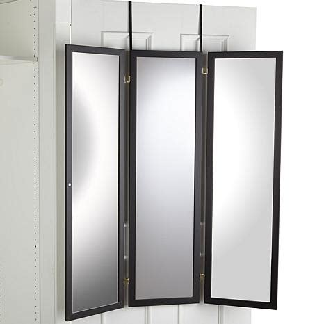 3 way mirror cabinet the door three way mirror 7978708 hsn