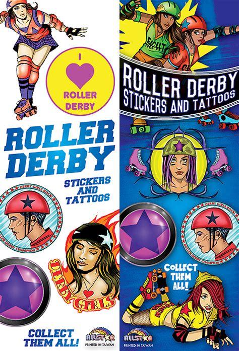 Roller Derby Sticker by Roller Derby Stickers Tattoos All Vending