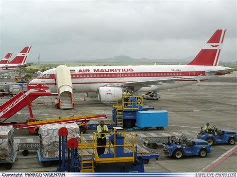 photo air mauritius airbus a319 112