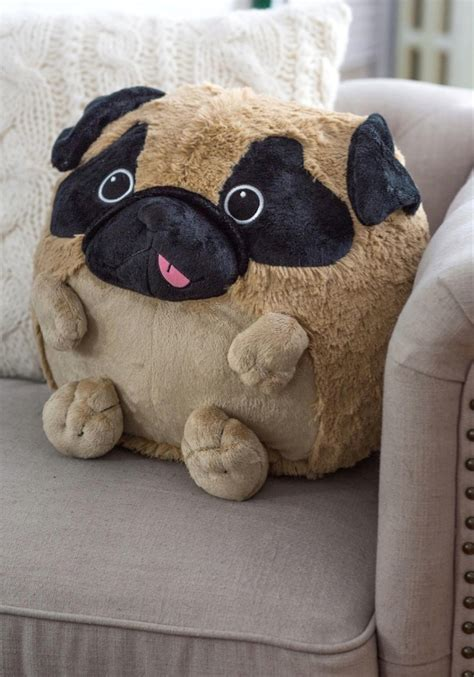 pug pillow plush one corgi pug pillows holycool net