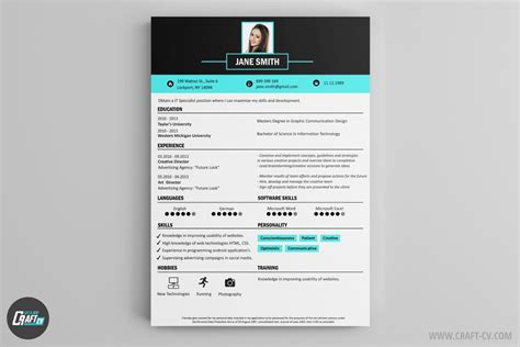 Creative Resume Builder by Resume Builder Creative Resume Templates Craftcv
