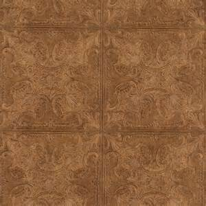 embossed textured copper faux ceiling tile heavy duty