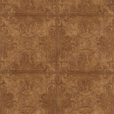 embossed ceiling tiles embossed textured copper faux ceiling tile heavy duty wallpaper pa131206 all 4 walls wallpaper