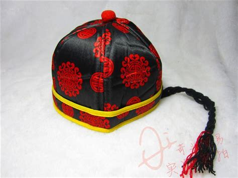 traditional chinese costume childrens hat cap