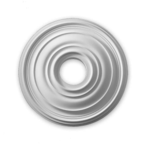 fypon 16 inch traditional smooth surface ceiling medallion
