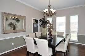 Gray Dining Room With Chair Rail 1000 Images About Chair Rail Paint Schemes On