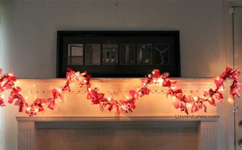 valentines day garland how to make a s day fabric garland tutorial